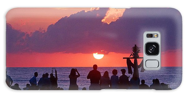 Easter Sunrise Beach Service Galaxy Case