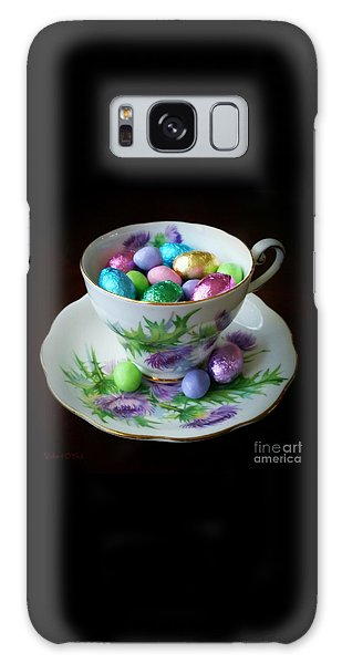 Easter Teacup Galaxy Case