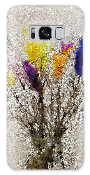 Sweden Galaxy Case - Easter Tree- Abstract Art By Linda Woods by Linda Woods