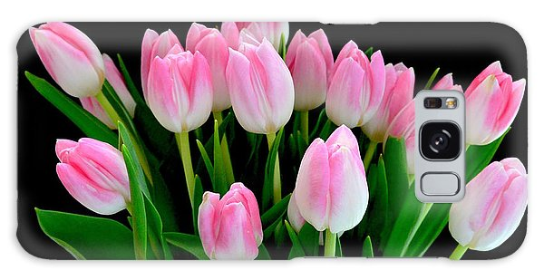 Easter Tulips  Galaxy Case by Jeannie Rhode