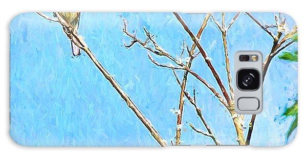 Eastern Bluebird Couple Galaxy Case