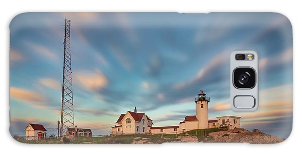 Eastern Point Lighthouse At Sunset Galaxy Case