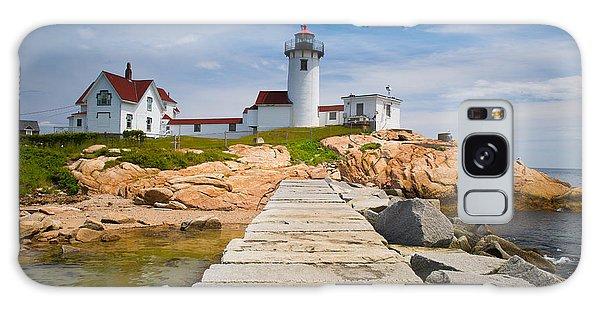 Otter Rock Galaxy Case - Eastern Point Lighthouse by Emmanuel Panagiotakis