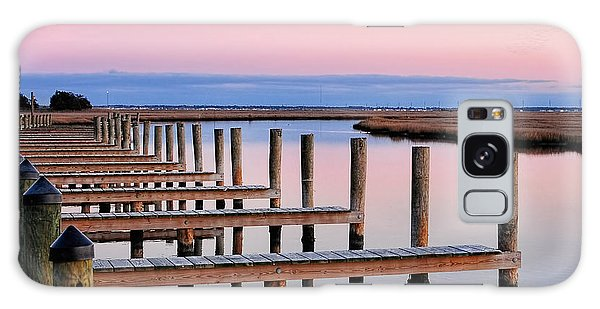 Eastern Shore On The Docks Galaxy Case