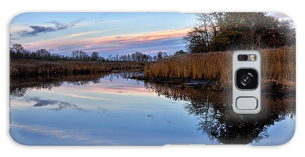 Eastern Shore Sunset - Blackwater National Wildlife Refuge Galaxy Case by Brendan Reals