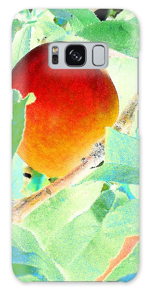 Eat A Peach Galaxy Case by Louis Nugent