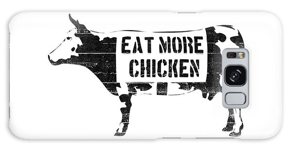 Cow Galaxy Case - Eat More Chicken by Pixel  Chimp