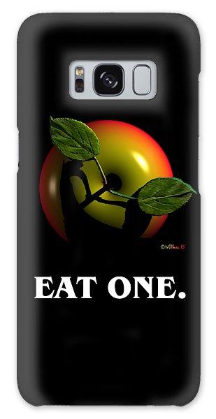 Eat One  Galaxy Case