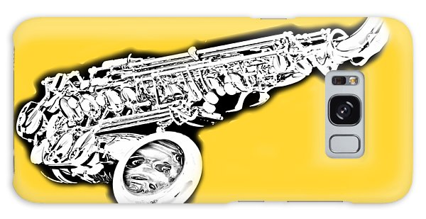 Eat Sleep Sax Repeat Galaxy Case