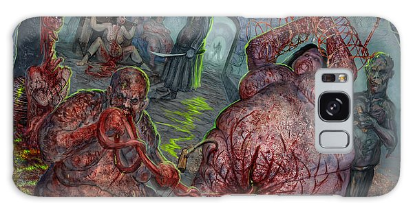 Eating The Stench Galaxy Case by Tony Koehl
