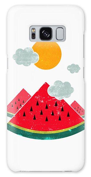 Watermelon Galaxy S8 Case - Eatventure Time by Mustafa Akgul