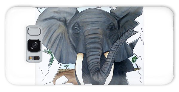 Eavesdropping Elephant Galaxy Case by Teresa Wing