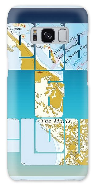 Bahamas Galaxy Case - Ebb And Flow Bahamas by Brandi Fitzgerald