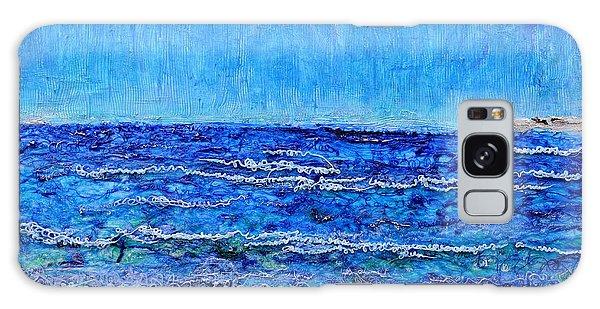 Ebbing Tide Galaxy Case by Regina Valluzzi