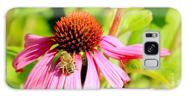 Echinacea Bee Galaxy Case
