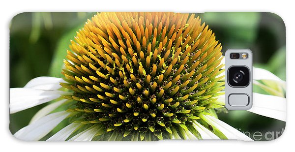 Galaxy Case featuring the photograph Echinacea - Head And Shoulders by Wendy Wilton