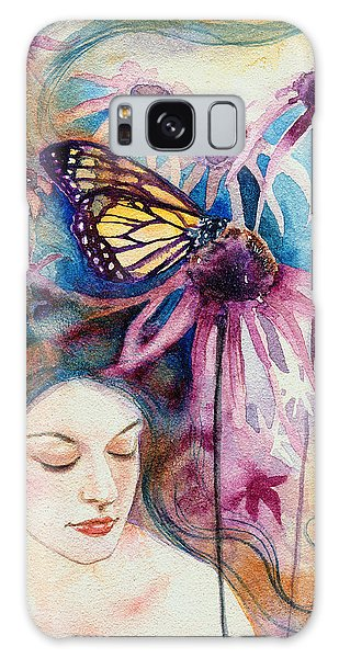 Echinacea Galaxy Case by Ragen Mendenhall
