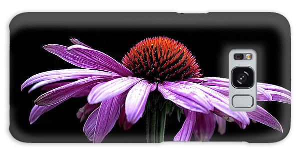 Echinacea Galaxy Case by Sheldon Bilsker
