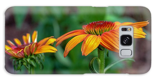 Echinacea Side View Galaxy Case