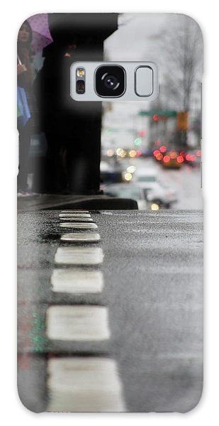 Echoes In The Rain Drops  Galaxy Case by Empty Wall