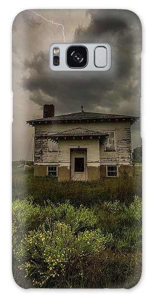 Galaxy Case featuring the photograph Eclipse Apocalypse by Aaron J Groen