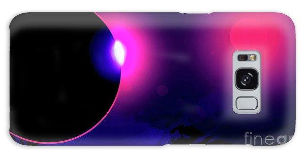 Eclipse Of 2017 Galaxy Case