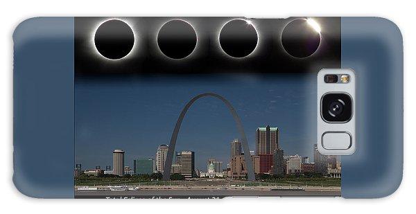 Eclipse - St Louis Skyline Galaxy Case