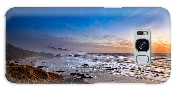 Ecola State Park At Sunset Galaxy Case