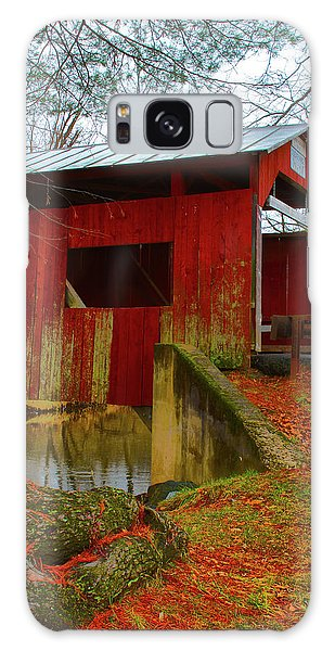 Ecther Covered Bridge Near Catawissa, Pa Galaxy Case