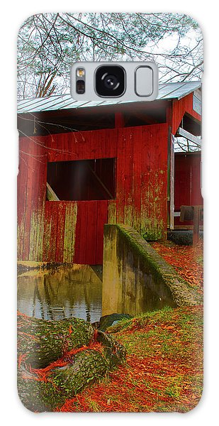 Ecther Covered Bridge Near Catawissa, Pa Galaxy Case