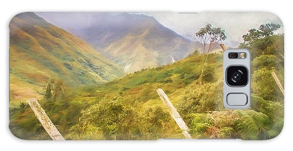 Ecuadorian Mountain Forest Galaxy Case