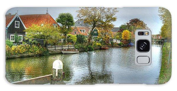 Edam Waterway In Holland Galaxy Case