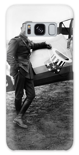Airplane Galaxy S8 Case - Eddie Rickenbacker - Ww1 American Air Ace by War Is Hell Store