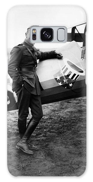 Airplane Galaxy S8 Case - Eddie Rickenbacker - Ww1 American Air Ace by War Is Hell Store