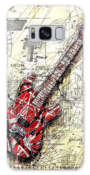 Guitar Galaxy S8 Case - Eddie's Guitar 3 by Gary Bodnar