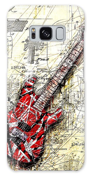 Guitar Galaxy Case - Eddie's Guitar 3 by Gary Bodnar