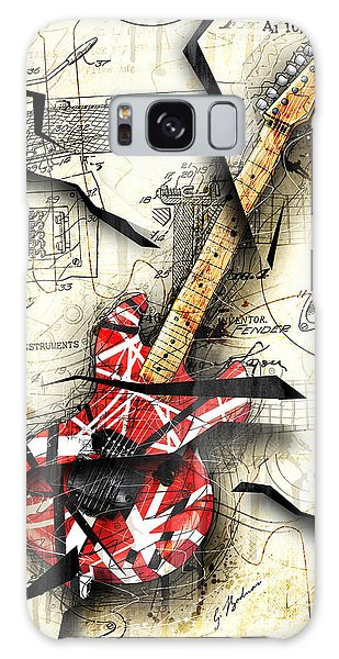 Patent Galaxy Case - Eddie's Guitar by Gary Bodnar