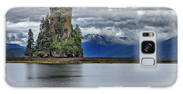 Eddystone Rock In Misty Fjords National Monument Galaxy Case