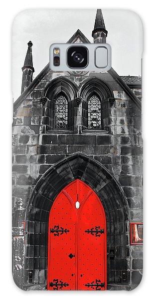 Edinburgh Door Galaxy Case