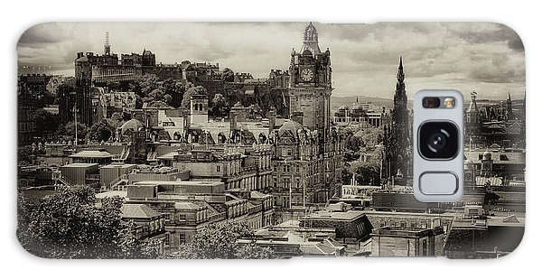 Galaxy Case featuring the photograph Edinburgh In Scotland by Jeremy Lavender Photography