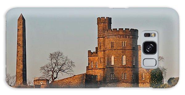 Edinburgh Scotland - Governors House And Obelisk Calton Hill Galaxy Case