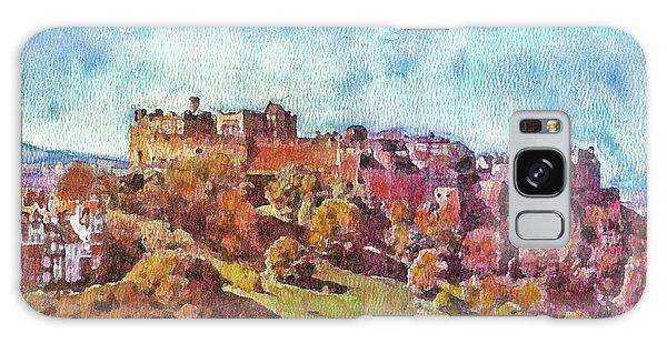 Edinburgh Skyline No 1 Galaxy Case by Richard James Digance
