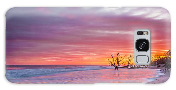 Edisto Beach Sunset Galaxy Case