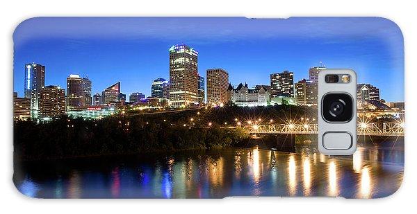 Edmonton Skyline Galaxy Case