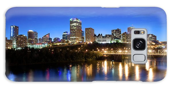 Edmonton Skyline Galaxy Case