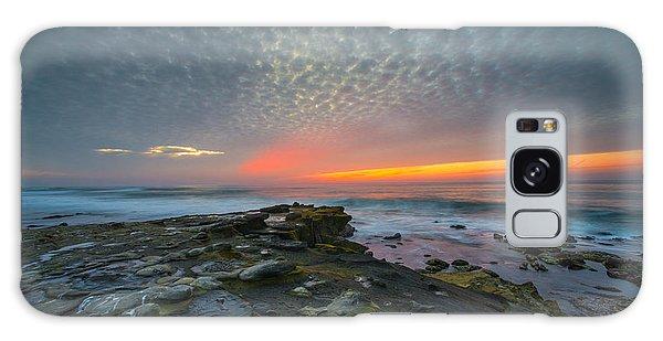 Eerie Sunset La Jolla Cove San Diego Galaxy Case