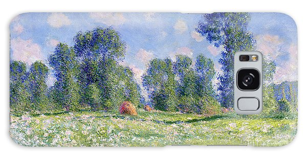 Field Galaxy Case - Effect Of Spring At Giverny by Claude Monet