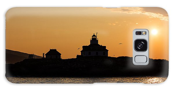 Egg Rock Lighthouse Galaxy Case by Gary Smith