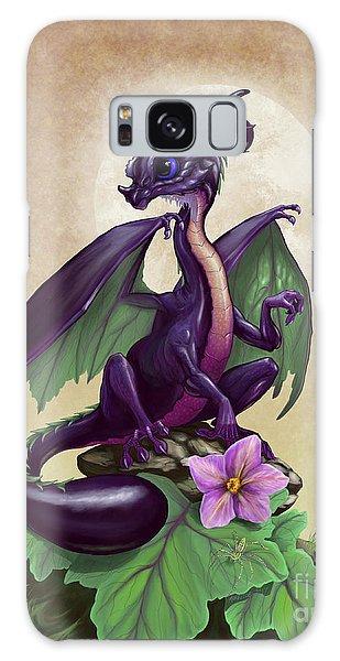 Eggplant Dragon Galaxy Case