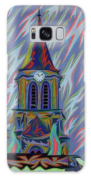 Eglise Onze - Onze Galaxy Case by Robert SORENSEN
